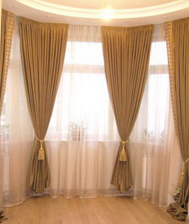 Эркерные шторы Казань