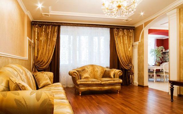 Классический интерьер комнаты