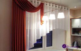Как выбрать шторы на кухню?