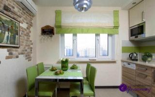 Дизайн штор для кухни в Казани
