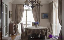 Льняные шторы в Казани