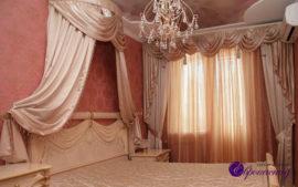 Шторы и портьеры для спальни