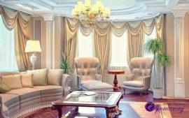 Портьеры для зала в Казани