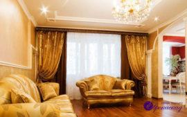 Портьеры для гостиной в Казани