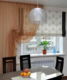 Пошив штор для кухни в Казани