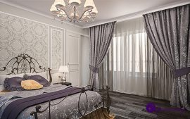 Как нужно выбирать шторы для спальни?