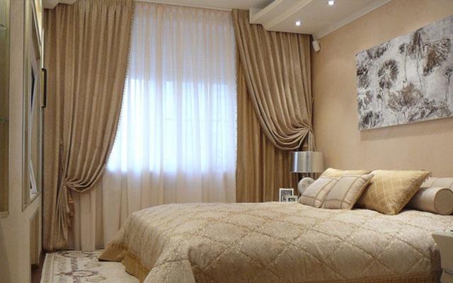 Стили портьерного оформления спален