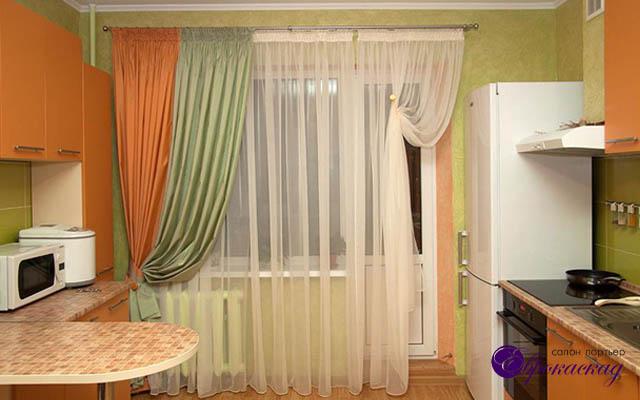 Дизайн занавесок на кухню