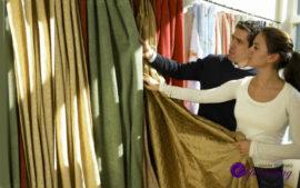 Ткани для штор и интерьера В Казани